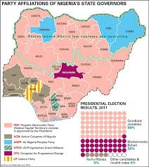 map of nigeria africa nigeria s political map history channel