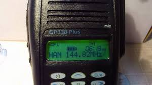 motorola gp338 for ham radio youtube