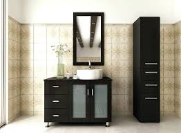 84 Bathroom Vanity Double Sink Mirrors Cosmopolitan Solid Black Double Square White Drop In