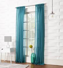 Amazon Window Curtains by Amazon Com No 918 Tayla Crushed Sheer Curtain Panel 50 By 63