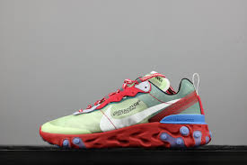 Nike React undercover x nike react element 87 green blue for sale jordans