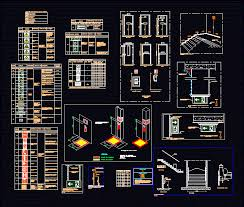 Common Emergency Exit DWG Detail for AutoCAD • Designs CAD &KA72