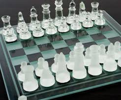 image gallery of glass chess boards
