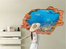 2016 sell creative 3d wall stickers home decor top fashion