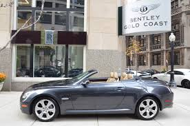 used lexus sports car convertible 2008 lexus sc 430 stock gc1505b for sale near chicago il il