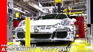 porsche 911 factory porsche 911 gt3 assembly factory