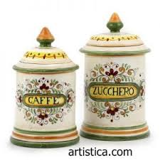 italian canisters kitchen how do you use italian pottery ceramic kitchen canister sets