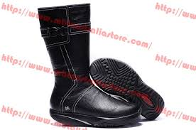 buy boots singapore mbt womens mbt goti casual mid black boots mbt shoes