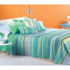 copriletti singoli zucchi primaverile letto singolo 1 piazza caleffi universal colori anice