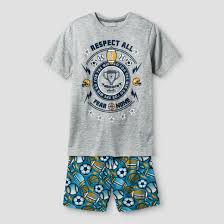 boys pajama set cat gray target