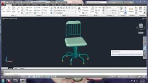 Home Design And Drafting By Brooke by Autocad 2013 3d Modeling Basics Desk Chair Part 1 Brooke