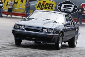 Black Fox Mustang 1985 Ford Mustang Lx A Blown Police Interceptor Fox Coupe That