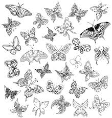 simple butterfly designs search butterfly designs
