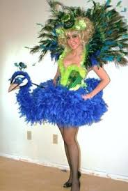 Upscale Halloween Costumes Coolest Homemade Peacock Halloween Costume Idea Peacock