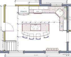 kitchen island plan island kitchen floor plan best 10 kitchen floor plans ideas on