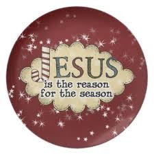 christmas plate jesus reason season christmas plate zazzle