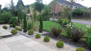cheshire front garden redesign outside rooms design ideas low