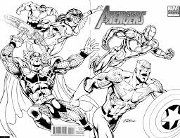 avengers coloring pages ecoloringpage com printable coloring pages