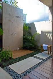 outdoor bathrooms ideas beautiful bath room pool shower also modern outdoor bathroom with
