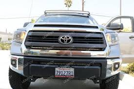 2014 tundra led light bar image 7400 from install the ijdmtoy led light bar on a 2014 up