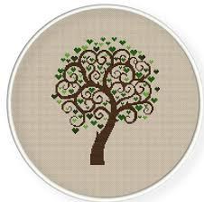 25 unique cross stitch tree ideas on cross