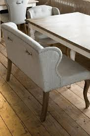 Modern Dining Bench With Back Best 25 Dining Bench With Back Ideas On Pinterest Traditional