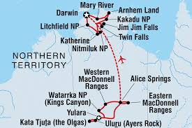Australian Outback Map Australia Tours U0026 Travel Intrepid Travel Us
