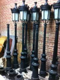 cast iron lighting columns antique street lights