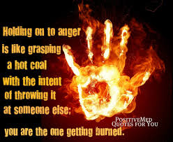 quotes about letting go yoga holding on to anger is like grasping a coal positivemed