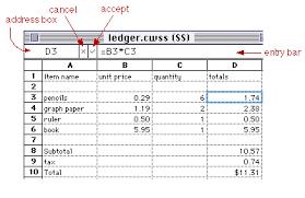 Spreadsheet Pictures Spreadsheet Basics