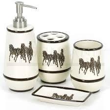 Horse Bathroom Accessories by Bathroom Decor Horses Bathroom Design 2017 2018