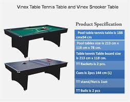 Table Tennis Dimensions Table Tennis Table Dimensions In Cm Home Table Decoration