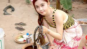beautiful girls cooking snake how to cook water snake in