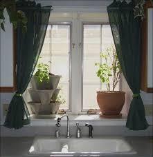 Kitchen And Bath Curtains by Kitchen Bath Window Curtains Cafe Curtains For Kitchen White