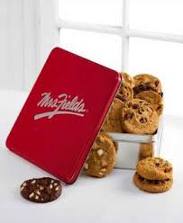 mrs fields brownies mrs fields classic tin with brownie and cookie assortment avas