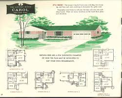factory built houses 28 pages of lincoln homes from 1955 retro
