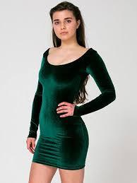 green velvet dress on the hunt