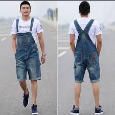 denim jumpsuit mens arrival 2017 high quality s straps denim jumpsuit