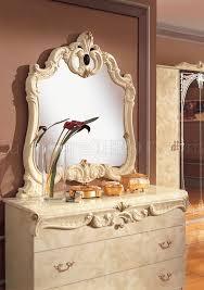 barocco bedroom set ivory bedroom w optional case goods by camelgroop italy