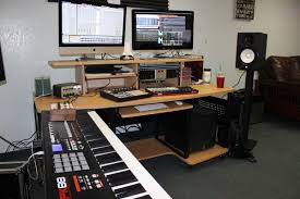 Producer Studio Desk by Music Production Desk Hostgarcia