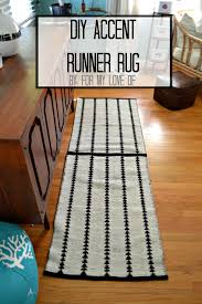 Diy Runner Rug Awesome Diy Runner Rug With 20 Diy Home Decor Ideas Link