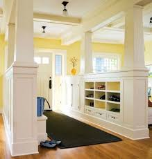 entryway built in cabinets entryway built ins good way to have an open floor plan still have