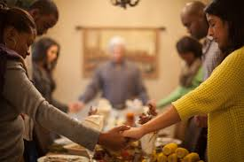 thanksgiving dinner blessing prayer five kernels of corn corporate chaplains of america
