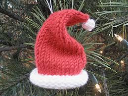 mini santa hat pattern