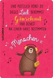 sprüche postkarten postkarten sprüche süßer tanzbär mit oldschool walkman für