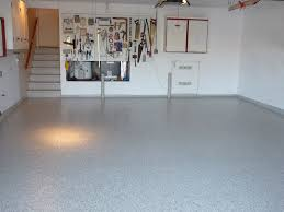 transform a dull garage floor into a brilliantly colored auto