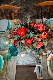 wedding flowers table 40 boho chic wedding table settings to get inspired weddingomania