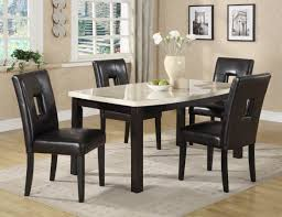 Black And White Dining Room Chairs by Dining Room Amusing Glass Dining Table Set 6 Chairs Cool And