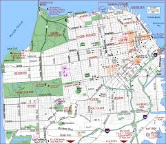 san francisco map san francisco oakland map tourist attractions travelsfinders