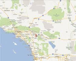 Southern Ca Map Map Of San Jacinto California California Map